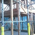 新築2階建て倉庫工事施工前画像
