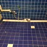 第二ミサワビル風呂タイル改修工事施工前画像