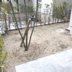 K様邸外構工事施工前画像