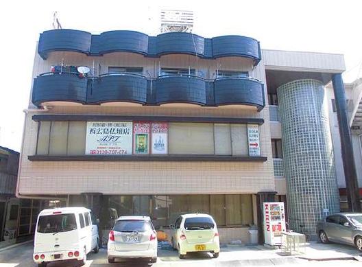 広島市西区アプト2ビル大規模改修工事施工後画像