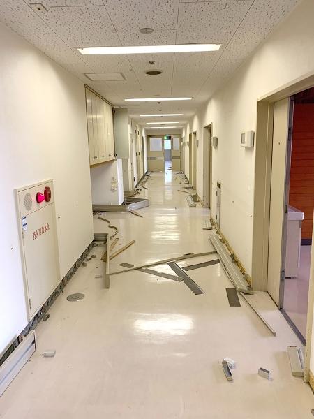 山口大学解体工事施工前画像