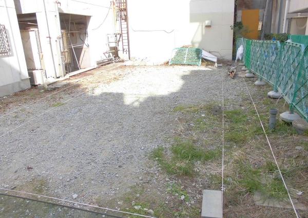 中洲案内所新築工事施工前画像