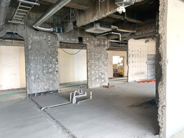 山口大学解体工事施工後画像