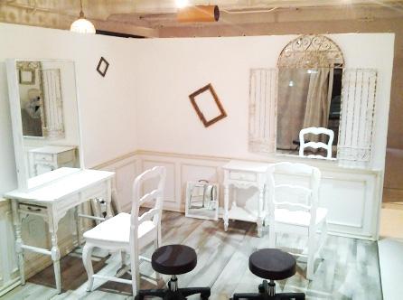 広島市佐伯区ange美容室新装工事施工後画像