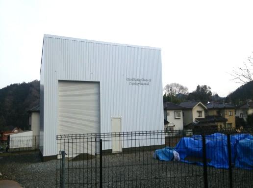 新築2階建て倉庫工事施工後画像