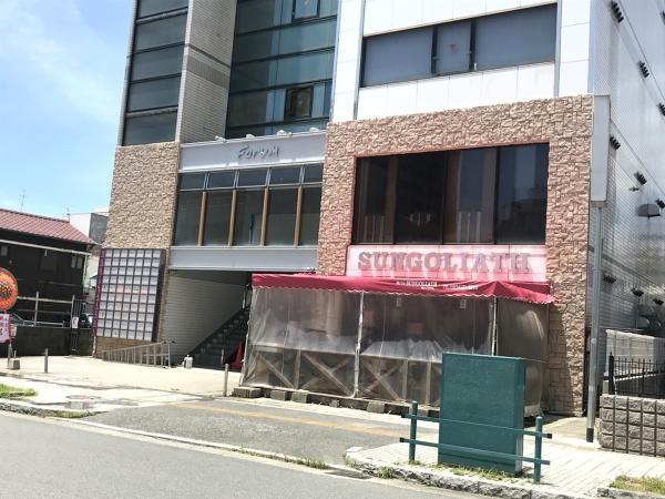 周南市フォーラムビル外壁工事施工後画像